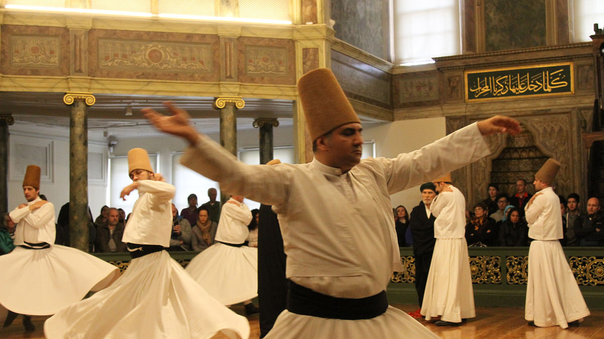 The Whirling Dervishes. (Photo: Vivian Fernandes/ <b>The Quint</b>)