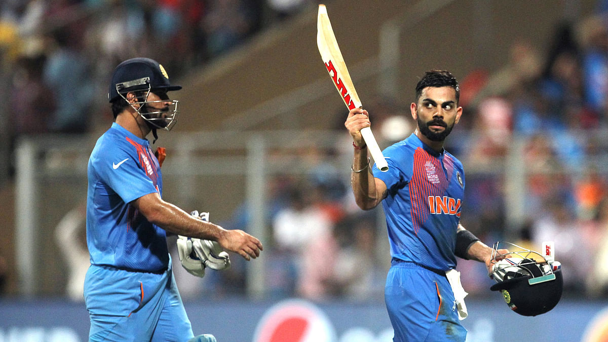 Virat Kohli single-handedly kept India in the match. (Photo: AP)