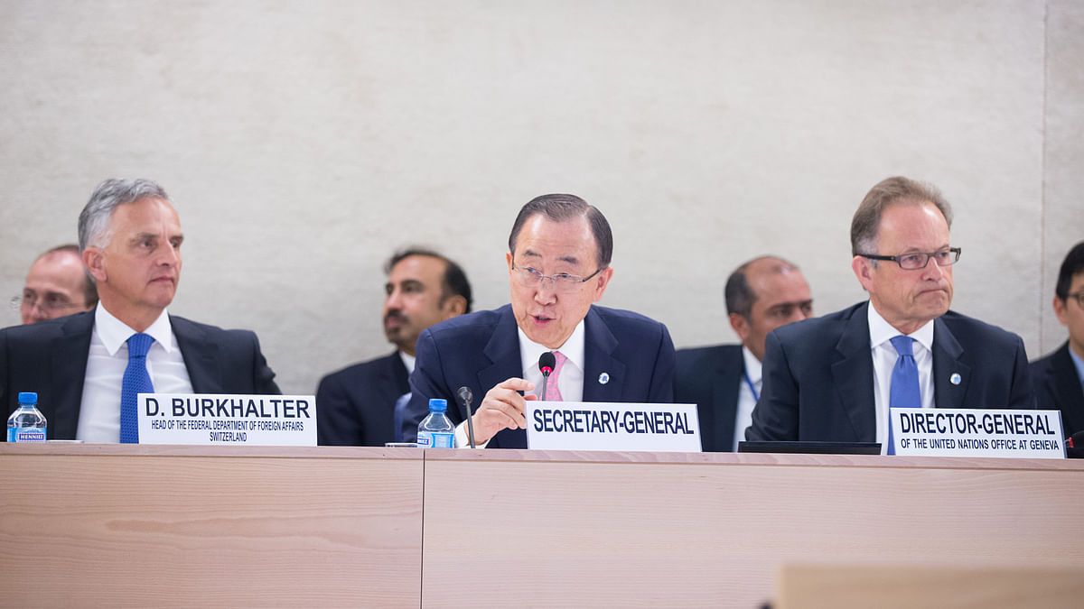 UN Secretary General Ban Ki-Moon. (Photo: IANS)