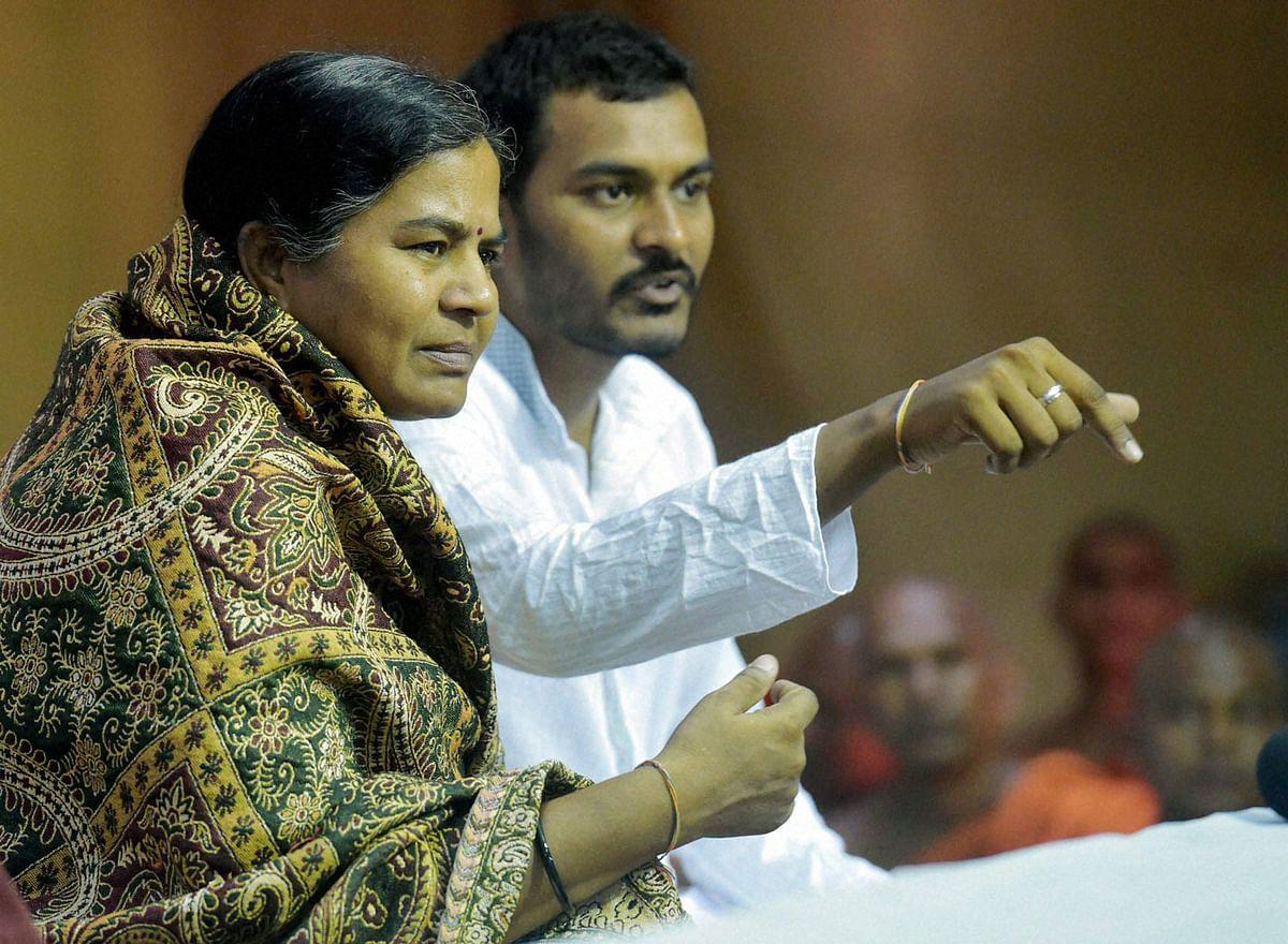 Rohith Vemula's mother Radhika Vemula and his brother Raja Vemula.(Photo: PTI)