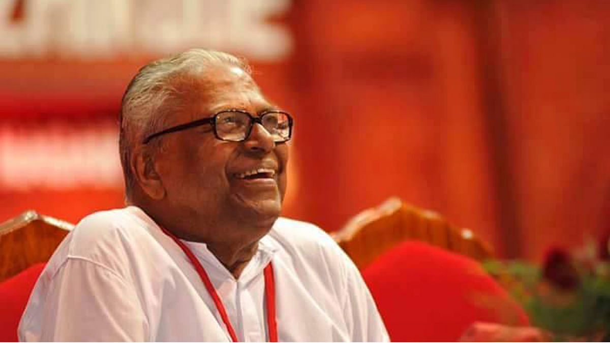 Achuthanandan Begins Campaign With a Sharp Attack on the UDF