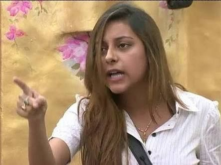 "Pratyusha in Bigg Boss season 7. (Photo Courtesy: <a href=""https://twitter.com/iamsk_z/status/715999935498481664"">Twitter</a>/@iamsk_z)"
