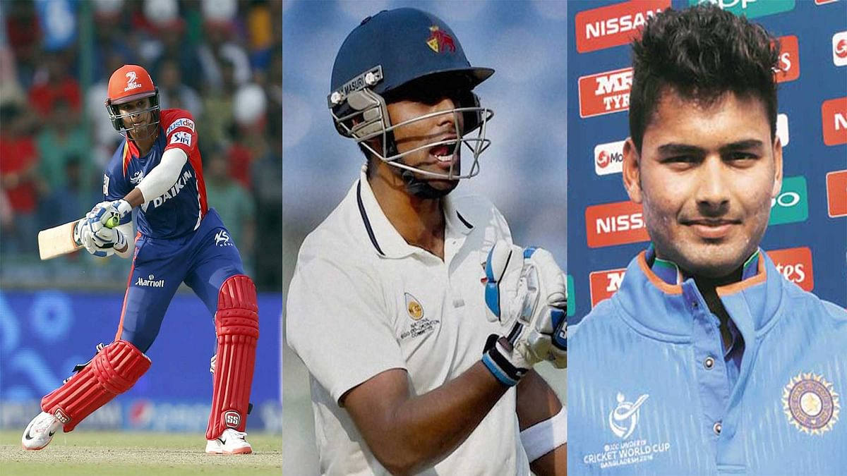 From left to right: Shreyas Iyer, Surya Kumar Yadav, and Rishabh Pant. (Photo: IANS, PTI)