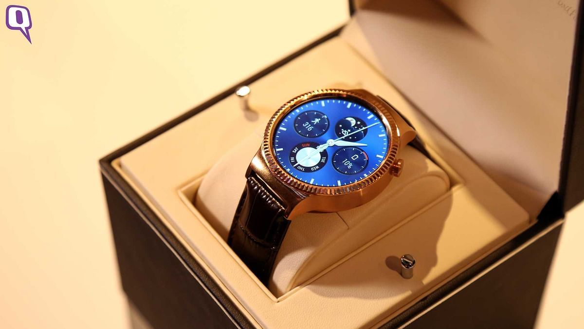 Huawei's New Android Wear Smartwatch Rivals the Moto 360 2nd Gen