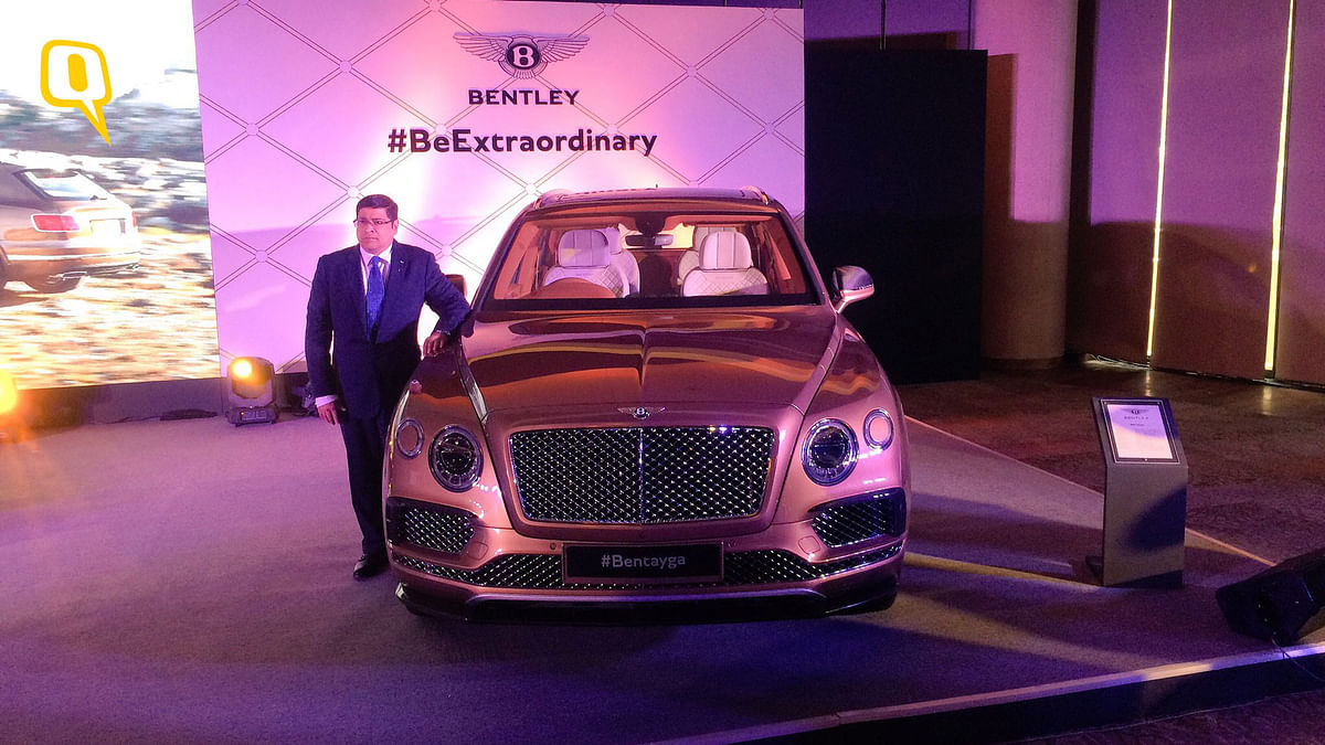Bentley Bentayga. (Photo: <b>The Quint</b>)