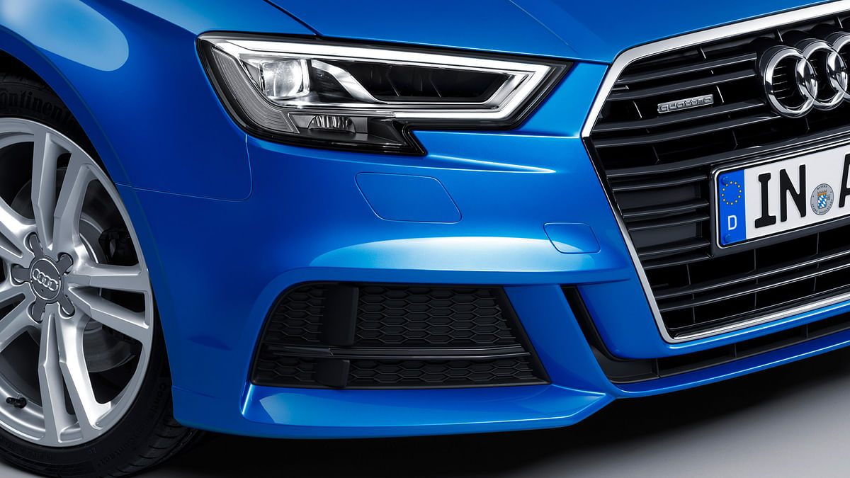 Audi A3 gets a new front end design. (Photo: Audi)