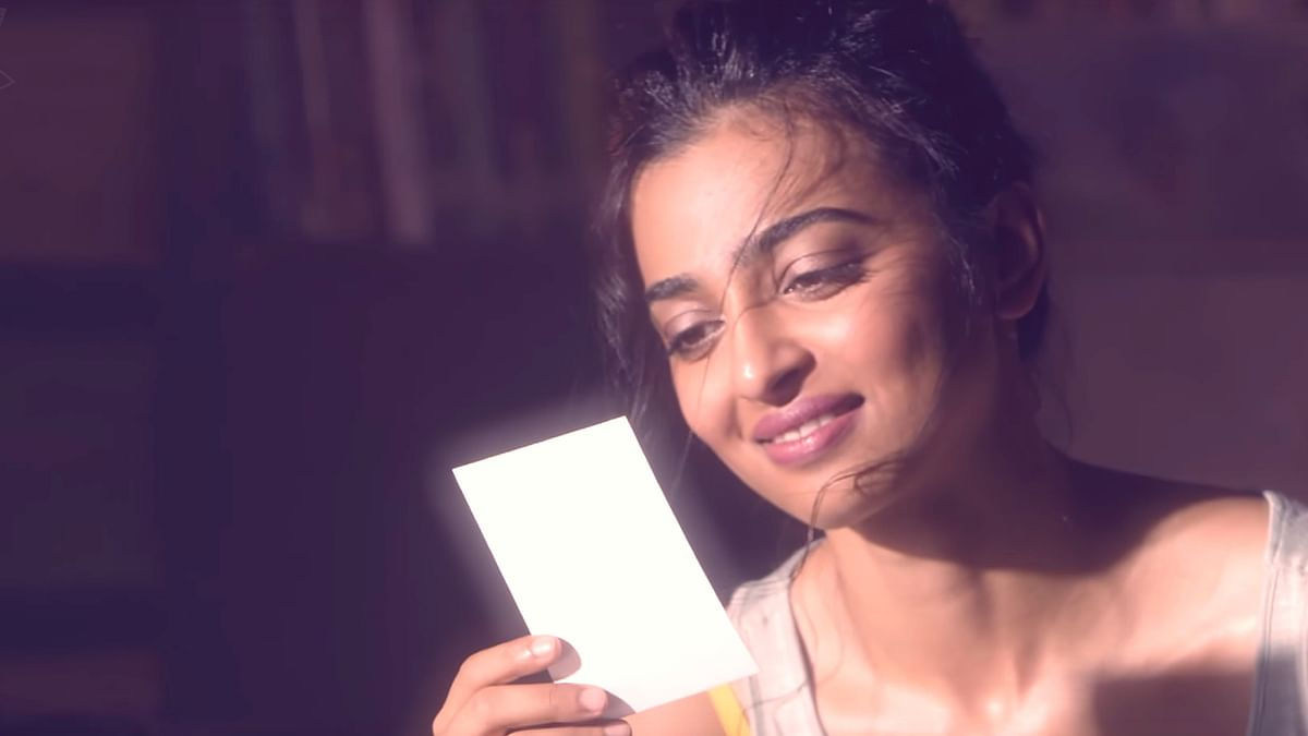 Radhika Apte chats with her younger self (Photo: YouTube/Blush)