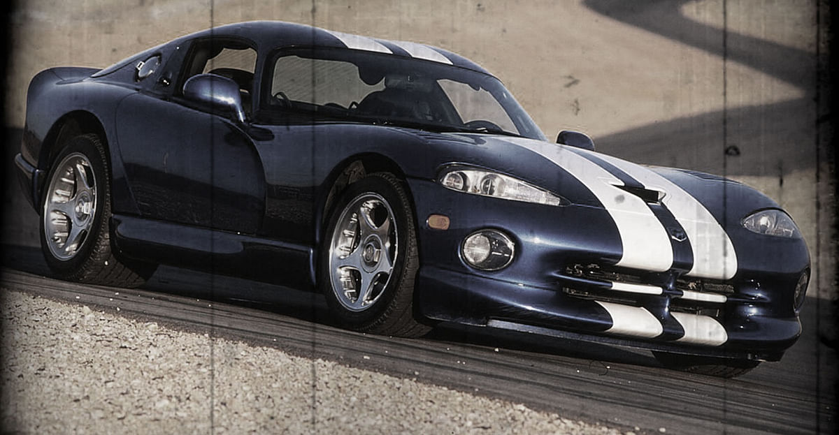 Dodge Viper GTS. (Photo altered by <b>The Quint</b>)