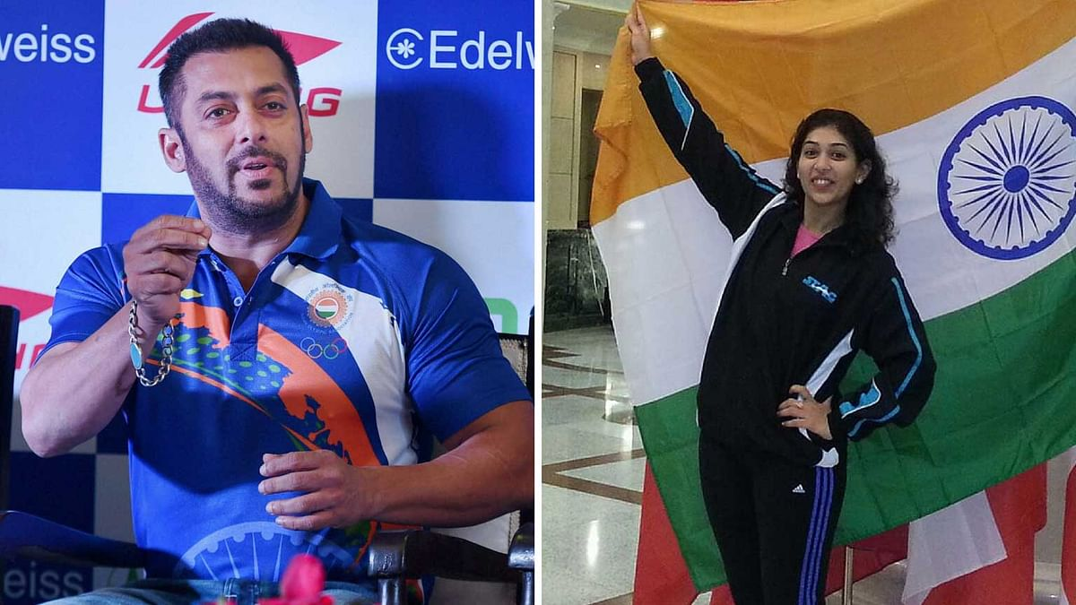Neha Aggarwal, who represented India at the 2008 Beijing Olympics writes an open letter to Salman Khan. (Photo: PTI)