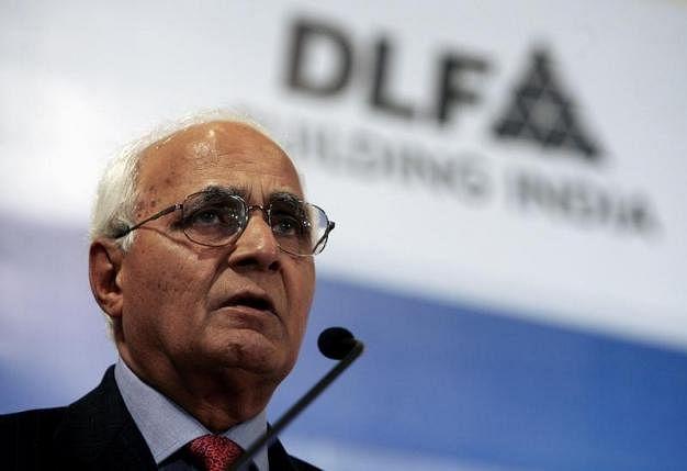 KP Singh, chairman of Indian property developer DLF Ltd. (Photo: Reuters)