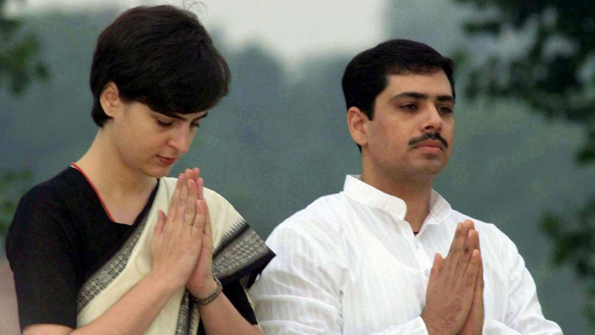 Robert Vadra, who has been acussed to getting undue favours from the Hooda government in Haryana, with his wife Priyanka Gandhi. (Photo: Reuters)