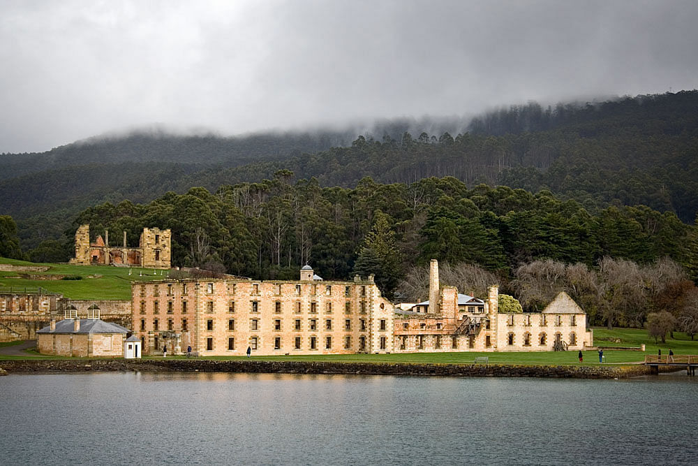 The present-day remains of Port Arthur. (Photo: Wikimedia Commons/Reuters)