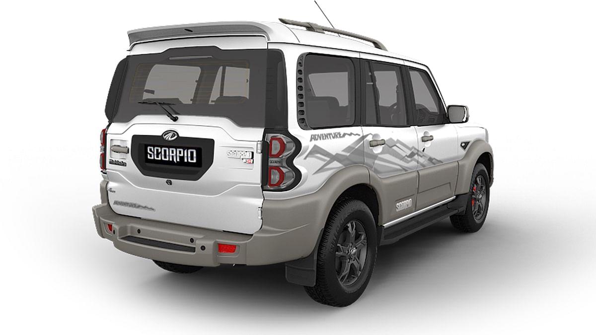 """Mahindra Scorpio Adventure Edition from the back. (Photo Courtesy: <a href=""""http://www.mahindrascorpio.com/"""">Mahindra</a>)"""
