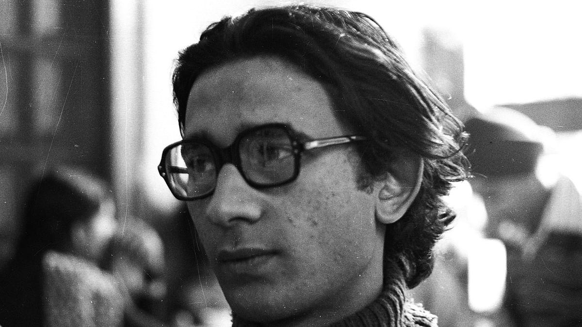 Theatre activist  Safdar Hashmi.