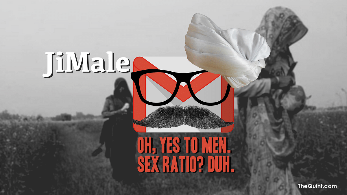Oh, yes to men. Sex ratio? Duh!