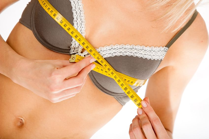 Been wearing a bra too large or tight all along? (Photo: iStock)