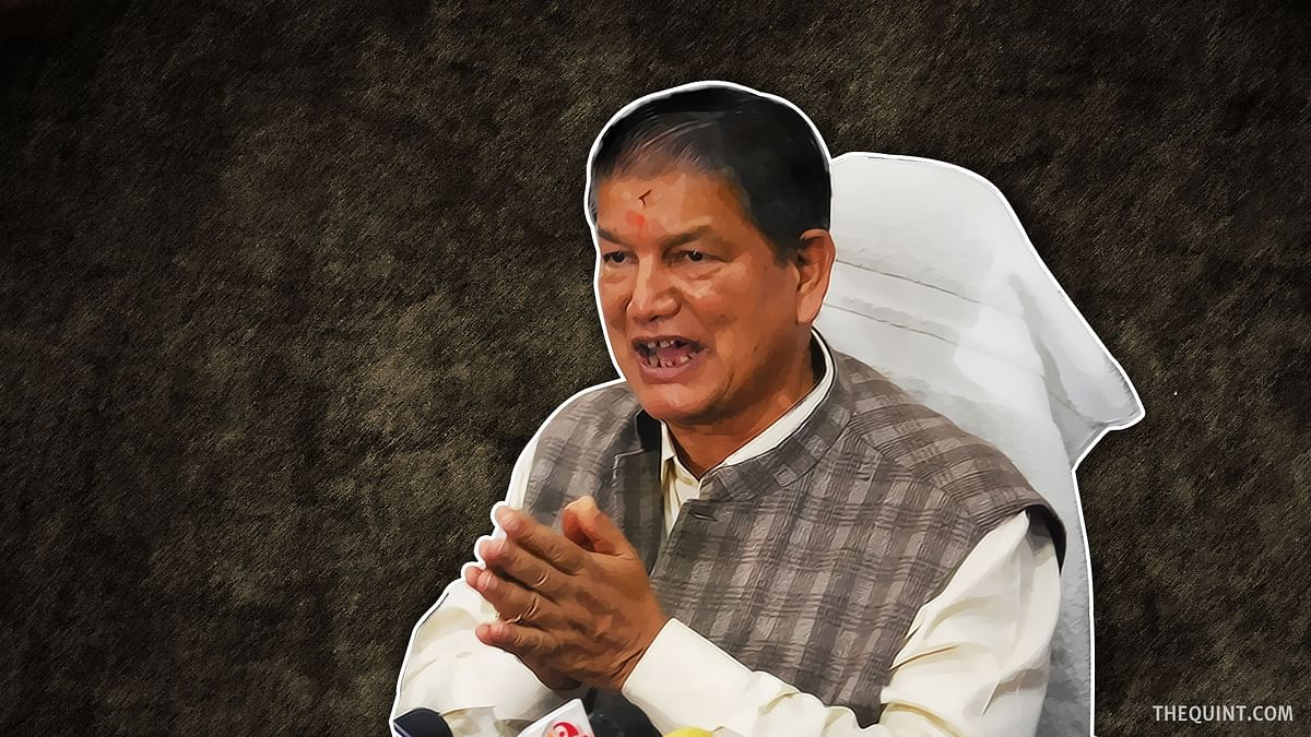 Harish Rawat Requests Congress To Relieve Him as the Punjab Party In-charge