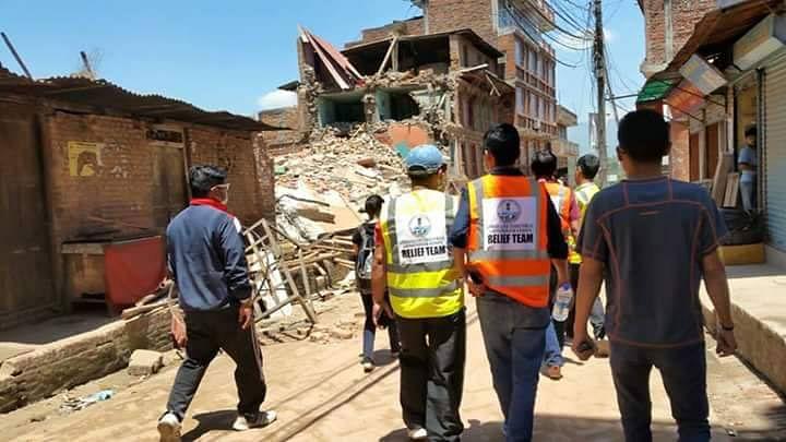 File photo of rescue work in Nepal. (Photo courtesy: Shivani Chemjong/ <b>The Quint</b>)