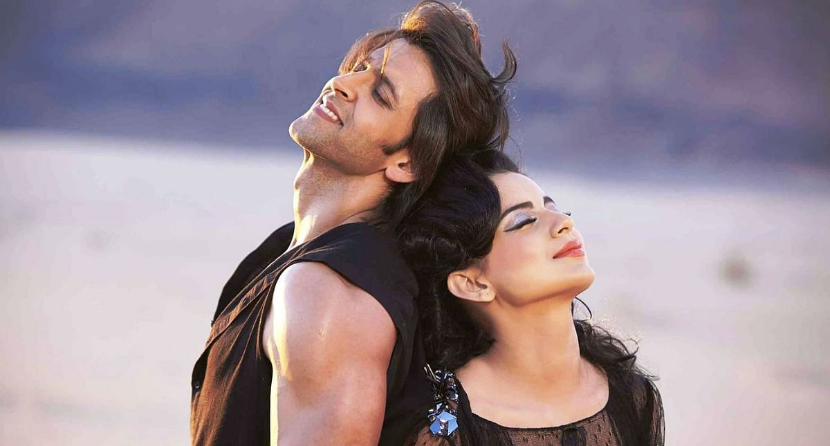 Hrithik Roshan and Kangana Ranaut in <i>Krrish 3</i>