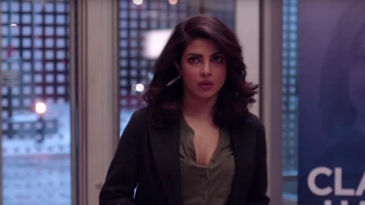 """Priyanka Chopra as Alex is becoming more Bollywood with every passing second. (Photo Courtesy: <a href=""""https://www.youtube.com/watch?v=yvgX_ULXm00&amp;nohtml5=False"""">Quantico episode 16 promo</a>)"""