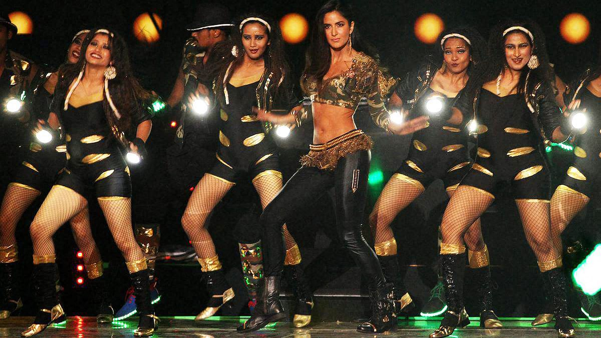 Katrina Kaif rocking the stage at the IPL 2016 opening ceremony. (Photo: PTI)
