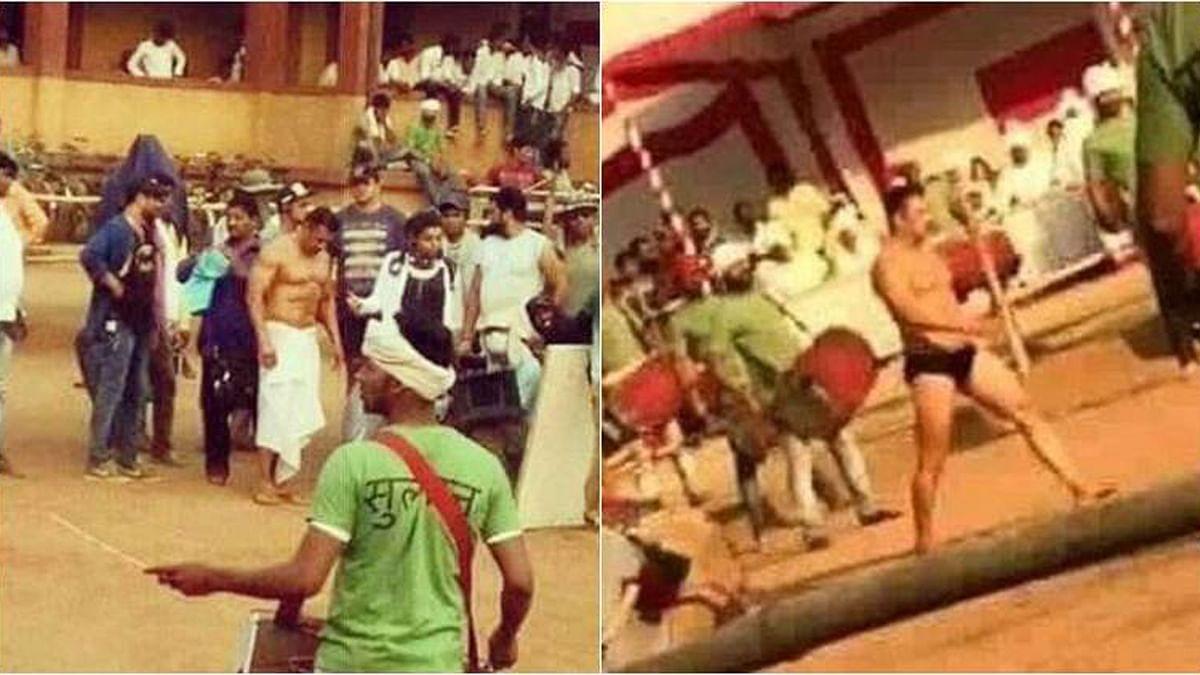 Salman Khan bares all for <i>Sultan </i>(Photo courtesy: Twitter)