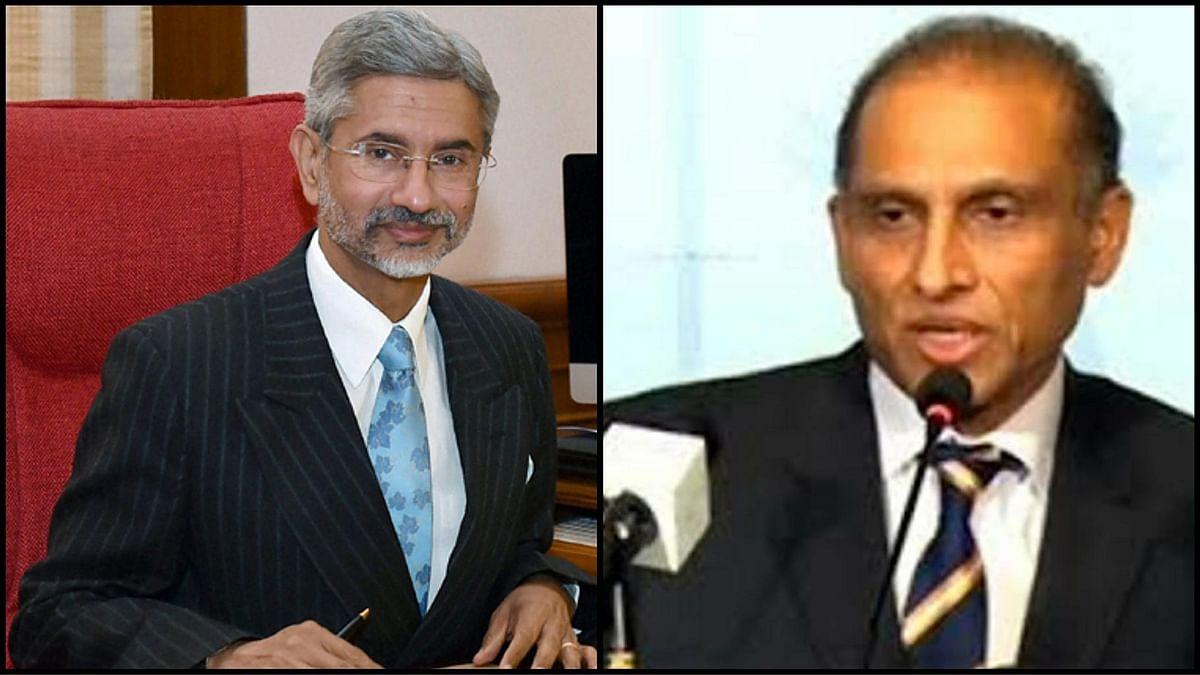 "Indian foreign secretary S Jaishankar (left) and his Pakistani counterpart Aizaz Ahmad Chaudhry. (Photo: <a href=""http://www.radio.gov.pk/"">Pakistan Govt Radio</a> &amp; Reuters)"
