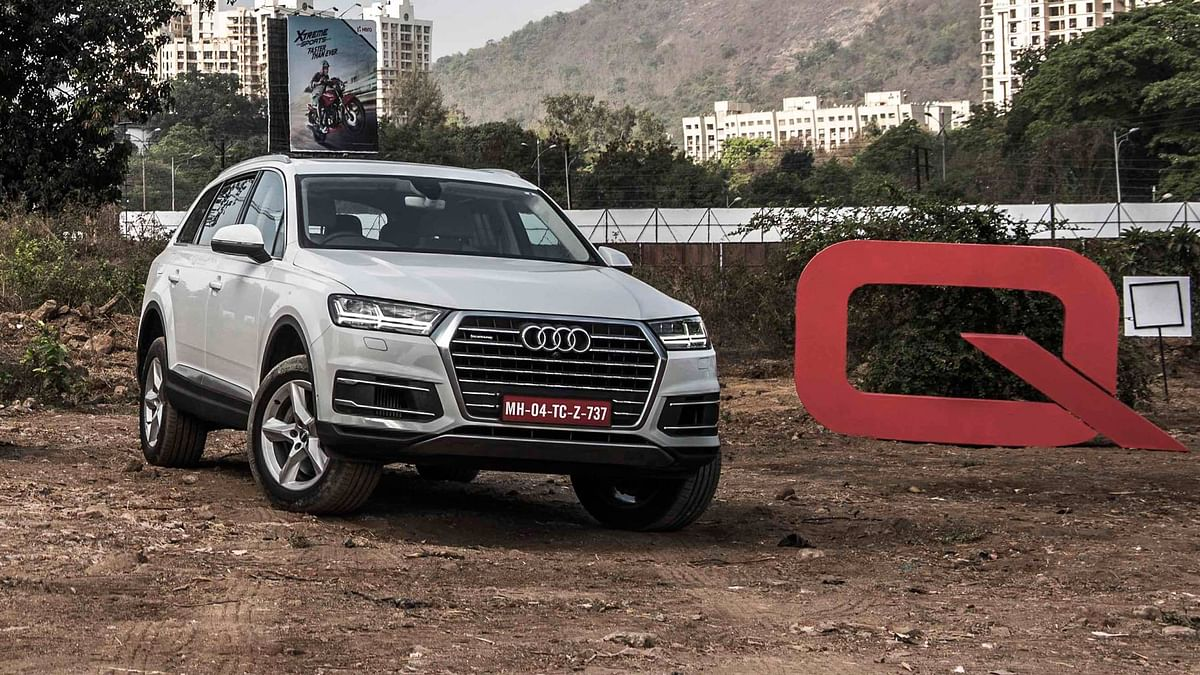Audi Q7 at the Q Drive held at Thane. (Photo Courtesy: Audi)