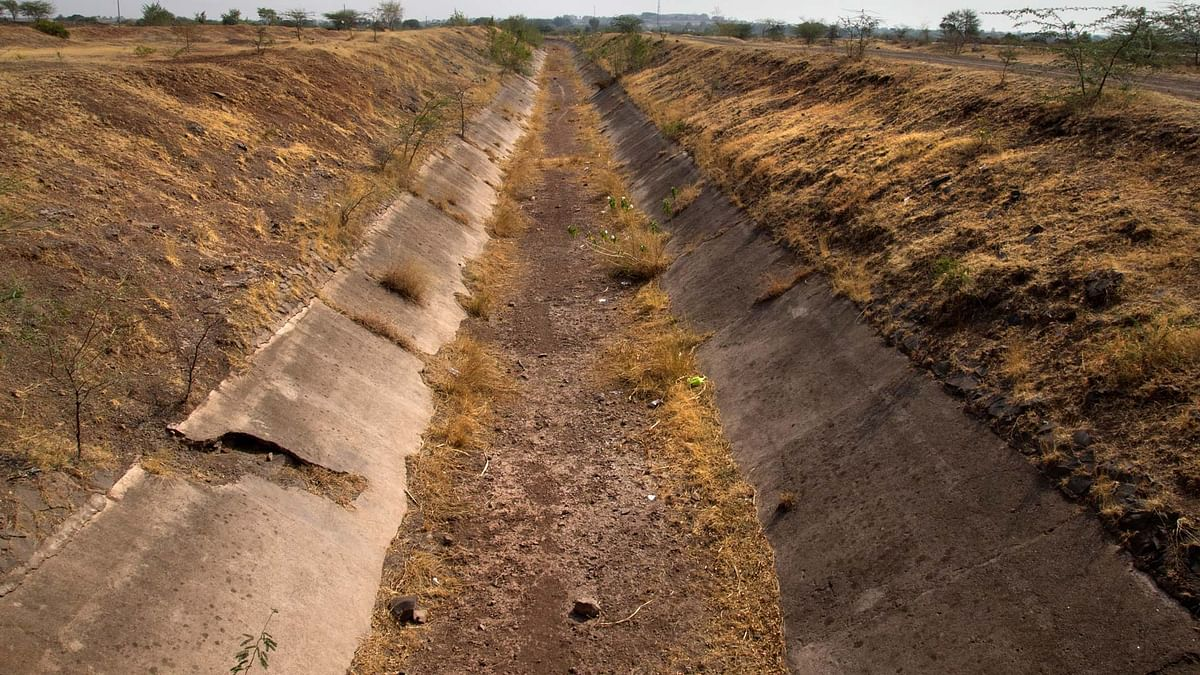 A dried up canal in Maharashtra. Image used for representation. (Photo courtesy: Subrata Biswas/Greenpeace)
