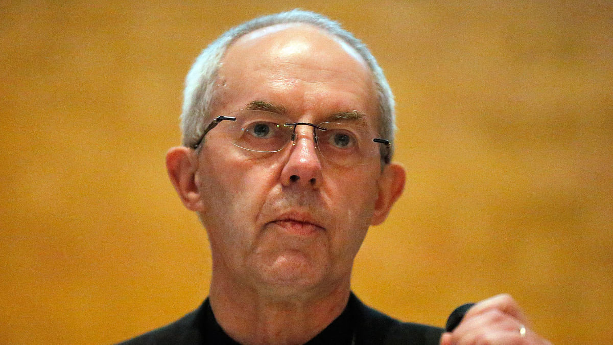 The Most Reverend Justin Welby, 60, had decided to take a DNA test after being approached by <i>The Daily Telegraph</i>. (Photo: AP)