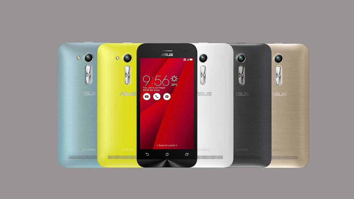 Asus Zenfone Go 4.5 2nd generation. (Photo Courtesy: Asus India)
