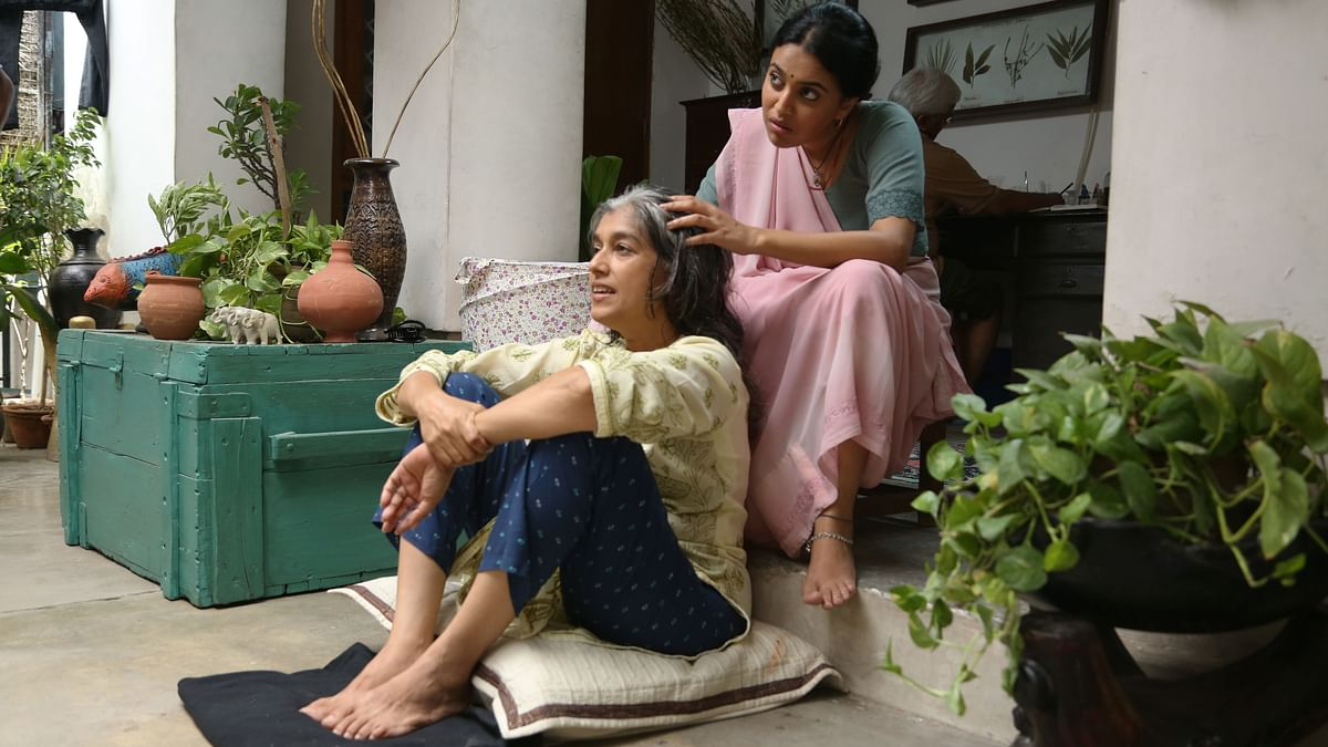 Swara Bhaskar and Ratna Pathak Shah in <i>Nil Battey Sannata</i>