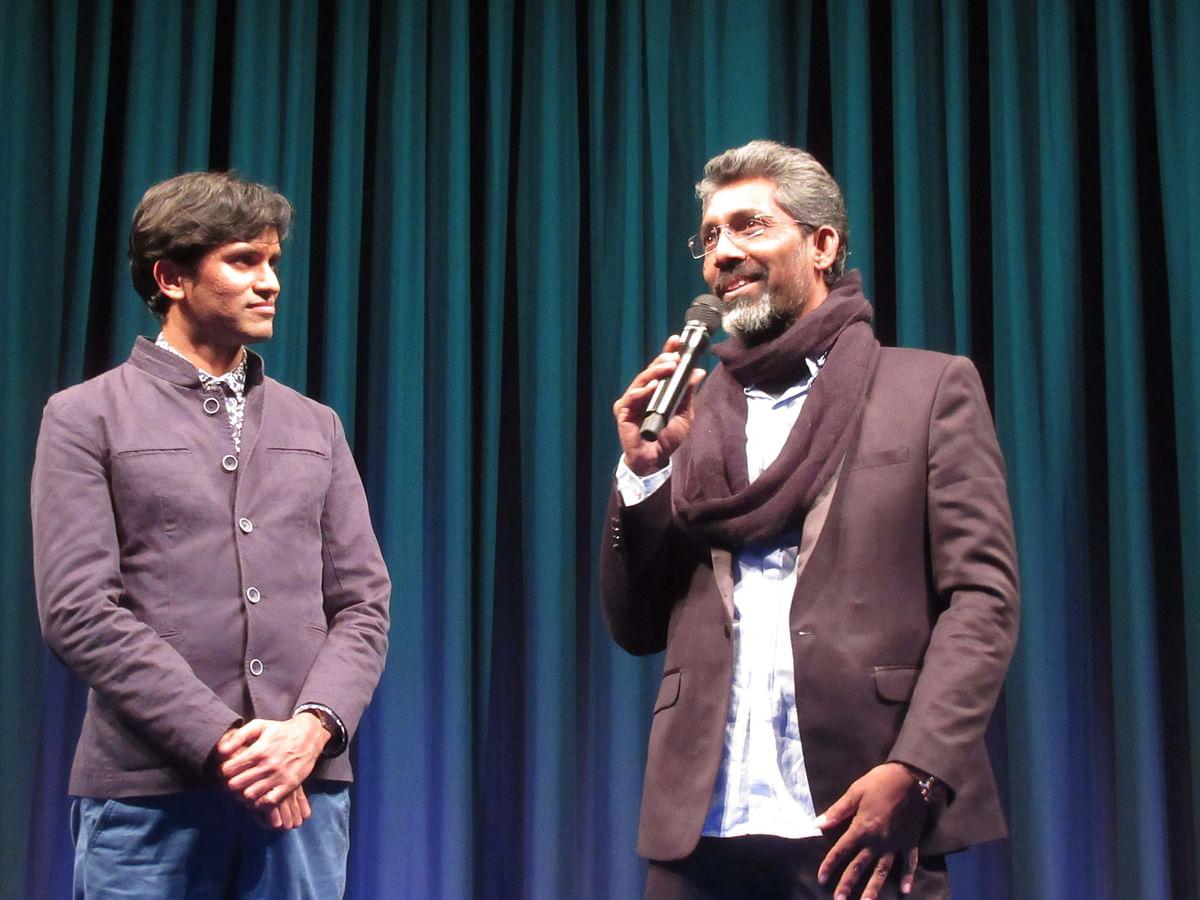 Nagraj Manjule presents  <i>Sairat </i>to cinema lovers