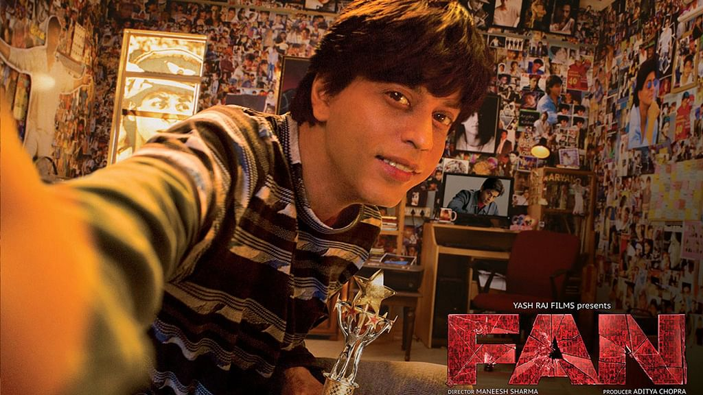 """The poster for FAN (Photo Courtesy: Facebook/<a href=""""https://www.facebook.com/FanTheFilm/photos/a.1599031860321201.1073741828.1491877341036654/1968680586689658/?type=3&amp;amp;theater"""">FAN</a>) &nbsp;&nbsp;"""