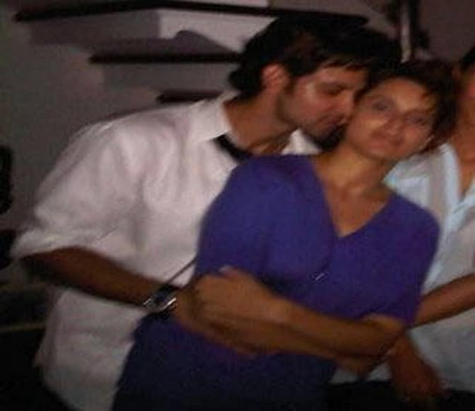 The picture which tries to prove that Hrithik and Kangana were a couple