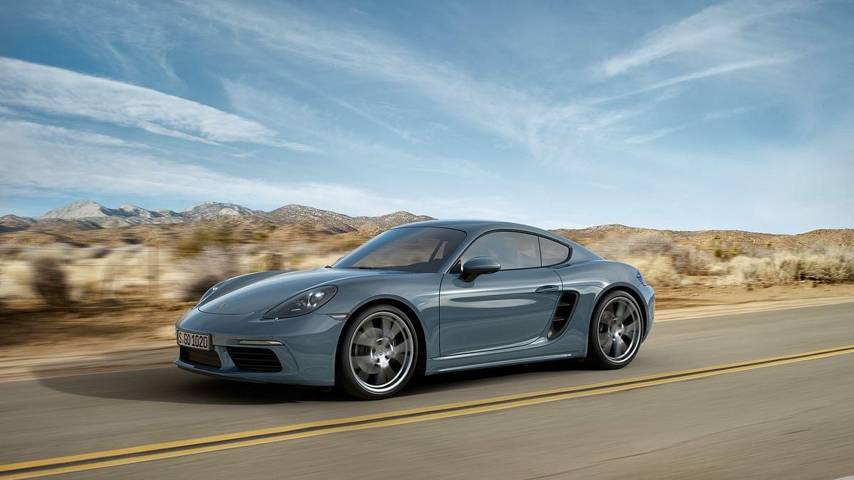 Porsche 718 Cayman sports the same design language as the 718 Boxster. (Photo: Porsche)