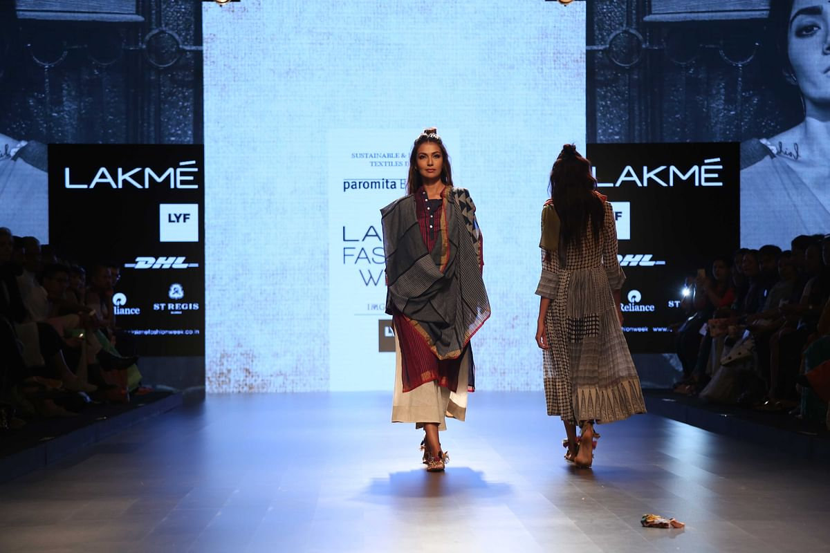 light, airy and simple is what PAromita Banerjee's collection is all about (Photo: Yogen Shah)