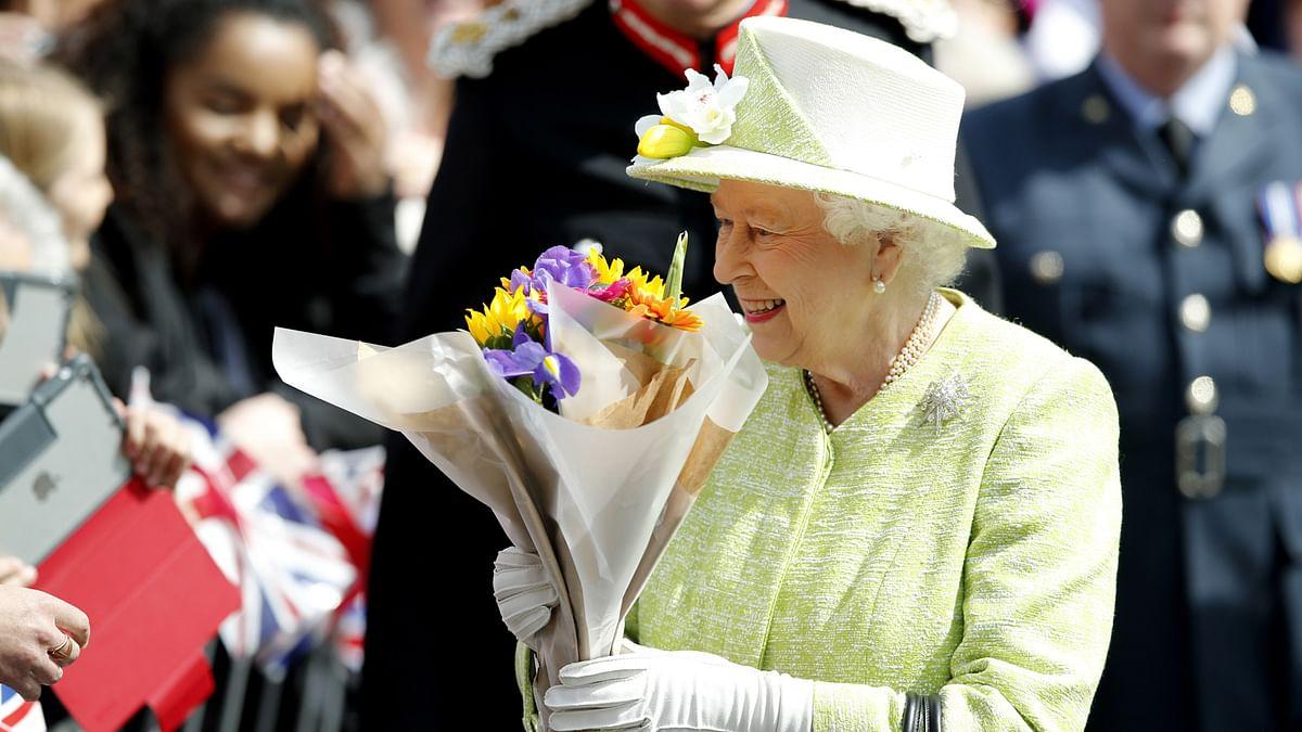 Queen Elizabeth II during her 90th birthday celebration. (Photo: AP)