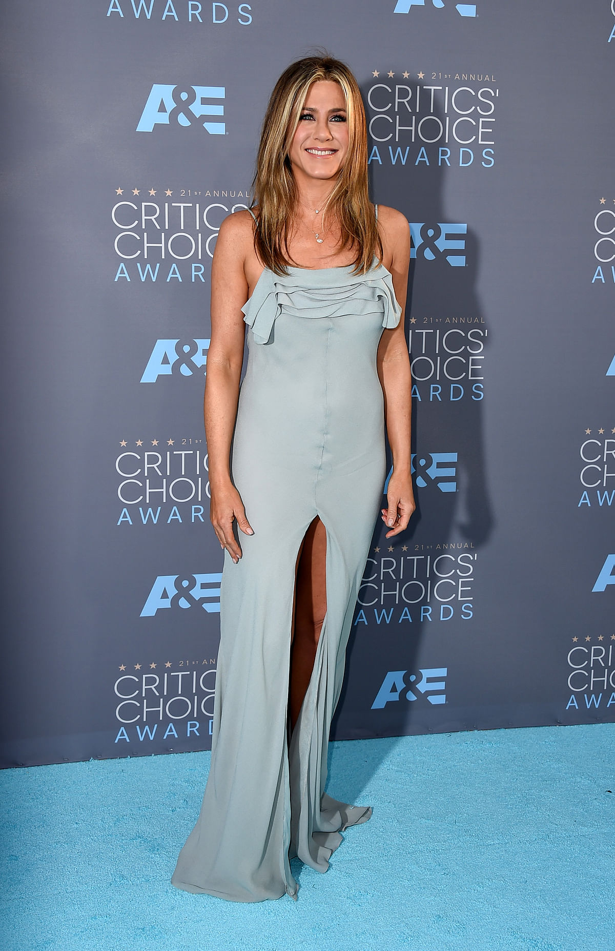 File photo of Jennifer Aniston at the 21st annual Critics' Choice Awards. (Photo: AP)