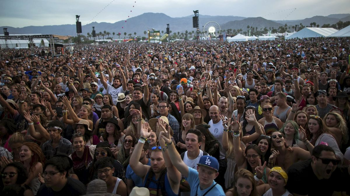 Coachella is an annual music and arts festival held in California. (Photo: Reuters)