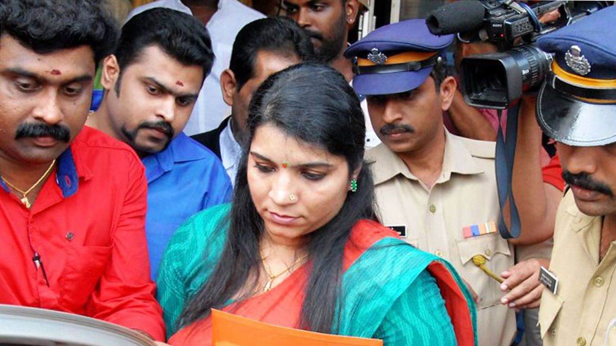 Solar Scam Accused Saritha Nair to Fight Rahul Gandhi in Wayanad