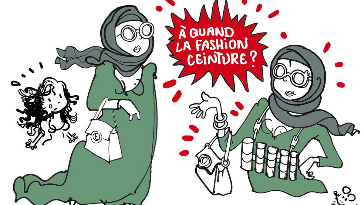 """The Dolce and Gabbana cartoon that Plantu is receiving criticism for. (Photo: Plantu's <a href=""""https://www.facebook.com/Plantu.page.officielle/"""">Facebook</a> Page)"""