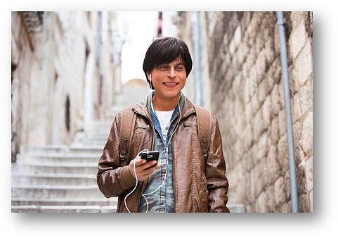 SRK will now be found at the Madame Tussauds Museum in his 'Gaurav' avatar from <i>Fan</i> (Photo: YRF)