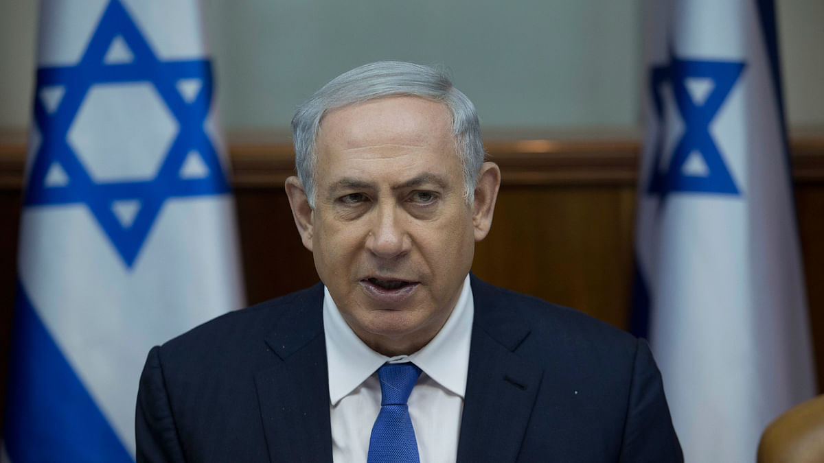 Israel's Prime Minister Benjamin Netanyahu in Jerusalem. (Photo: AP)