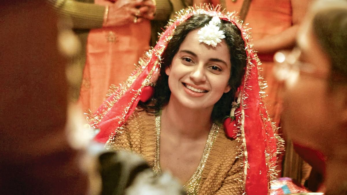 Kangana Ranaut in a scene from <i>Queen</i>