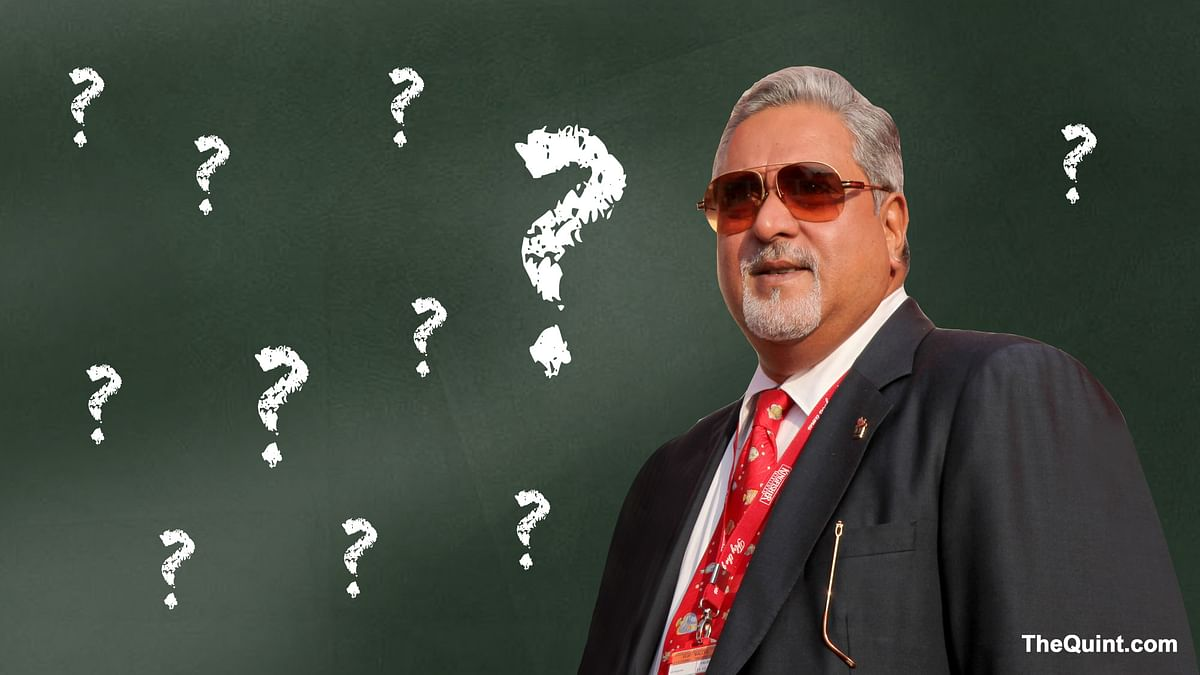 India has asked the UK to deport Mallya; his diplomatic passport was revoked last week. (Photo: <b>The Quint</b>)
