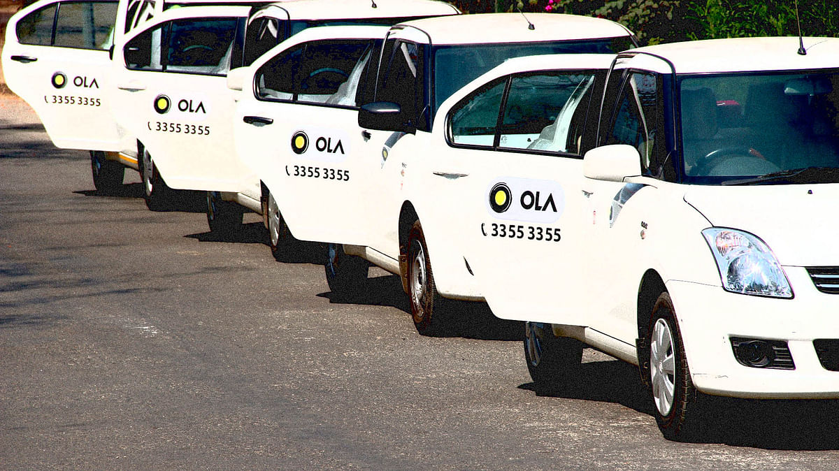 Ola has suspended ride-sharing feature on its app.