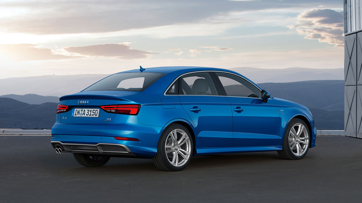Audi A3 from the back. (Photo: Audi)