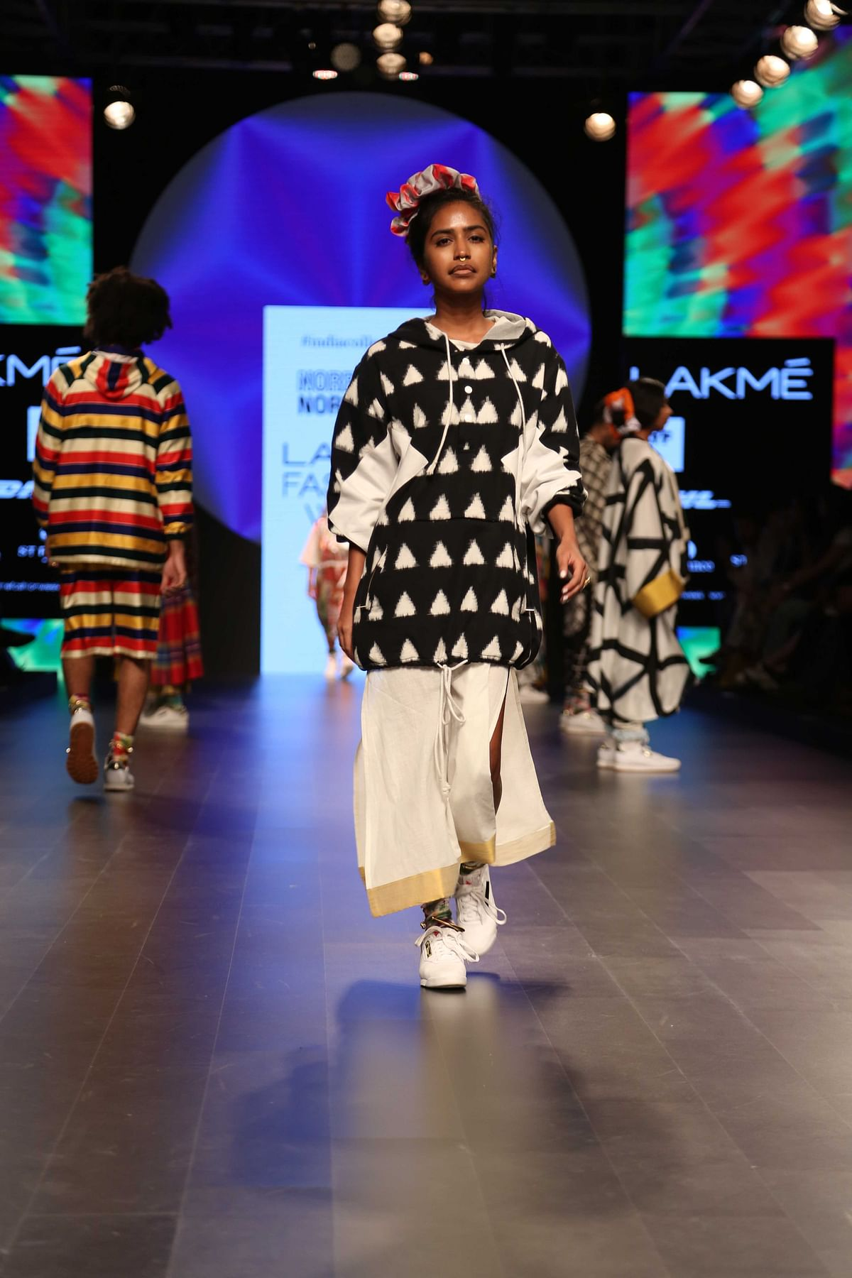 NorBlack NorWhite was quite an eye-catching collection (Photo: Yogen Shah)