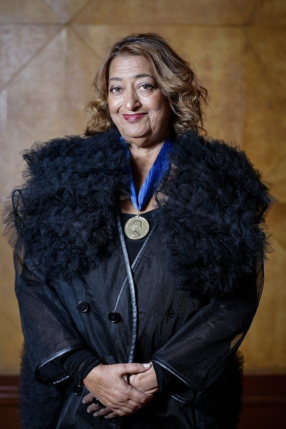 "The with her RIBA gold medal. (Photo Courtesy: Twitter/<a href=""https://twitter.com/RIBA"">@RIBA</a>)"